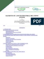 ILO Industrial Relations
