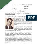 Bài thu hoạch Đi tham quan Bảo tàng Hồ Chí Minh