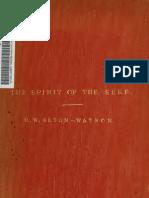 R.W. Seton-Watson - The Spirit of the Serbs