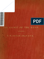 R.W. Seton-Watson - The Spirit of the Serbs