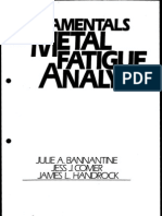 Fundamentals of Metal Fatigue Analysis