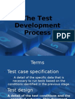 The Test Development Process