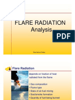 Flare Radiation Analysis