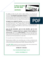 Comunicado Red Verde Fin de Curso