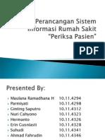 Perancangan Sistem Informasi Rumah Sakit