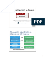Intro to Scrum Dot Net