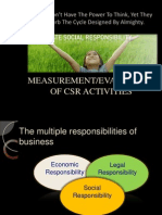 Measurement of Csr