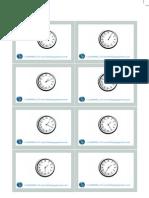 Clock LW Flashcards