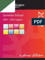 Summer Brochure 2012