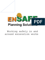 Working Safely in and Around Excavation Works