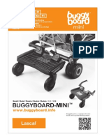 Lascal BuggyBoard-Mini Owner Manual 2012 (Spanish)