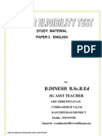 Paper 2 english 4mb pdf for TET