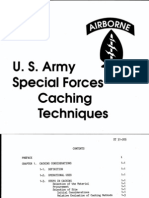 Us Army Special Forces Caching Techniques