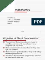 Shunt Compensators