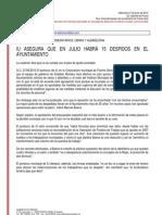 Resumen de Prensa 27-06-2012