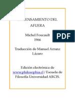 "Foucault-Foucault - el pensamiento del afuera.pdf"""
