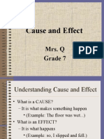 Cause and Effect-1