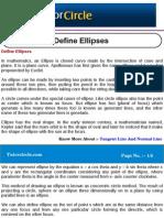 Define Ellipses