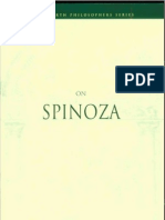Steinberg, Diane - On Spinoza