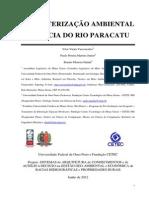 CARACTERIZAÇÃO AMBIENTAL DA BACIA DO RIO PARACATU