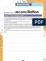 Bank Reconciliation Peresentatation Good