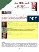 """""""Zur Hölle und  zurück"""" von Dr. Rawlings Documentary"""