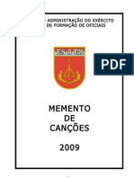 MEMENTO HINOS E CANÇÕES CFO 2009