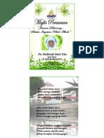 Buku Program Majlis Persaraan