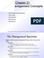 Pressman Ch 21 Project Management Concepts