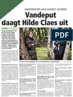 20111024_HBvL_Steven Vandeput Daagt Hilde Claes Uit