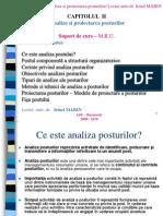 2 Curs ZI - Analiza Si Proiectarea Posturilor