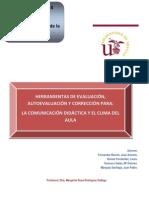 HERRAMIENTAS DE EVALUACIÓN, AUTOEVALUACIÓN Y CORRECCIÓN PARA LA COMUNICACIÓN Y EL CLIMA DEL AULA