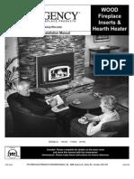 Regency Fireplace Insert Manual (H2100 I1100S I3100L)
