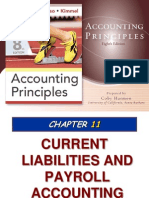 Ch11 - Current Liabilities and Payroll Accounting