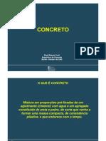 1 - Concreto (materias primas)
