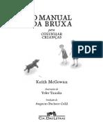 Keith McGowan  - O Manual da Bruxa para Cozinhar Crianças