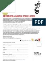 Arrangera Musik Och Kultur