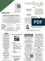 Roundshaw News Sheet 1st July 2012