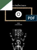 2012 Thelemic Sanctoral Calendar