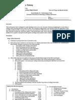 SS IV - Performance Task 2012-2013