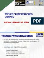 Tren Pavimentador Gomaco