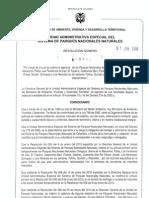 Res 099 01062010 Aperturadeparques