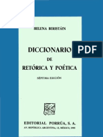 Beristain Helena Diccionario de Retorica Y Poetica p1 257