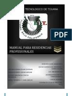 Manual Residencias