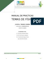 Manual de Practicas de Temas de Fisica