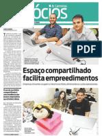 Jornal O Dia - Carreira & Negócios - Pág. 1