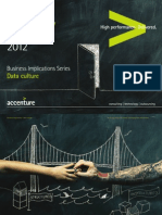 Business Implications Data Culture