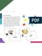 Alphabet Cards Brochure