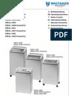 2350SMC Paper Shredder