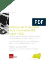 Indicador de la Sociedad de la Información (ISI) everis 2011